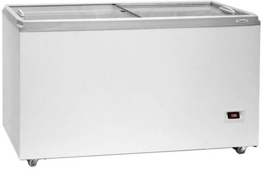 Морозильный ларь Бирюса Б-455VDZQ белый морозильный ларь бирюса 200vk