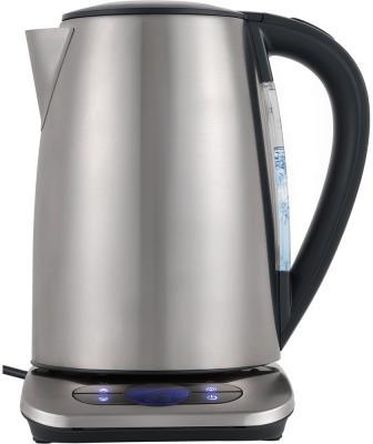 Чайник электрический Polaris PWK 1788CAD 1.7л. 2200Вт серебристый (корпус: нержавеющая сталь) чайник электрический sinbo sk 7362 серебристый