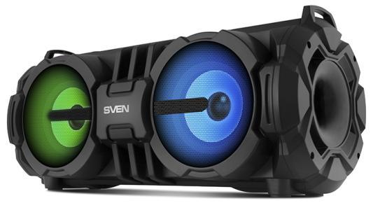 Колонка порт. Sven PS-485 черный 28W 1.0 BT/USB
