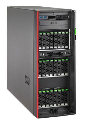 Сервер Fujitsu PRIMERGY TX1330 M3 1xE3-1270v6 2x16Gb x8 1x1Tb 7.2K 3.5 SATA 4x480Gb SSD 6G SATA CP400i 1G 2Р 2x450W 3Y Onsite 9x5 (S26361-K1601-V201) адаптер fujitsu eth ctrl 2x10gbit pcie x8 d2755 sfp s26361 f3629 l502
