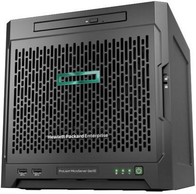 лучшая цена Сервер HPE ProLiant MicroServer Gen10 1x3418 1x8Gb x4 LFF SATA E208i-p 5720 1x200W (P07203-421)