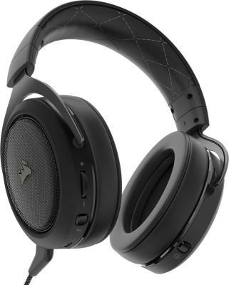 Игровая гарнитура беспроводная Corsair Gaming HS70 Wireless черный