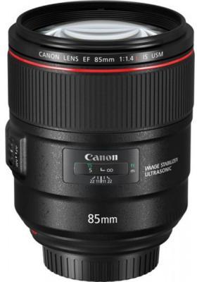 Объектив Canon EF IS USM (2271C005) 85мм f/1.4L объектив canon ef 24mm f 2 8 is usm черный