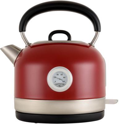 Чайник электрический Polaris PWK 1757CA 1.7л. 2200Вт красный (корпус: сталь)