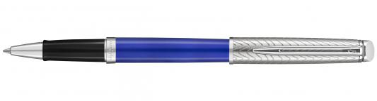 Ручка-роллер Waterman Hemisphere Deluxe Blue Wave CT черный F 2043219