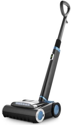 Вертикальный пылесос KITFORT КТ-539 сухая уборка чёрный голубой вертикальный пылесос kitfort кт 539 сухая уборка чёрный голубой