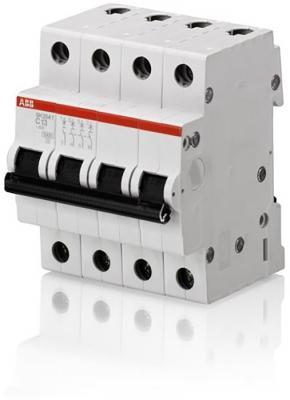 ABB 2CDS244001R0254 Автоматич.выкл-ль 4-пол. SH204L C25