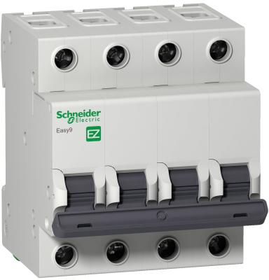 Schneider-electric EZ9F14425 АВТ. ВЫКЛ. EASY 9 4П 25А B 4,5кА 400В =S=
