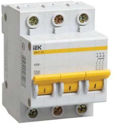 Iek MVA20-3-010-C Авт. выкл.ВА47-29 3Р 10А 4,5кА х-ка С ИЭК