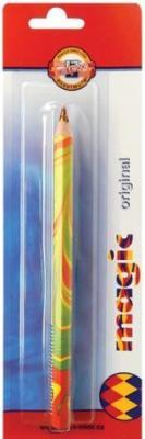 Карандаш MAGIC, с многоцветным грифелем, цветной лакированный корпус, в блистерной упаковке koh i noor карандаш с многоцветным грифелем progresso magic 30 штук 8775030001tdru