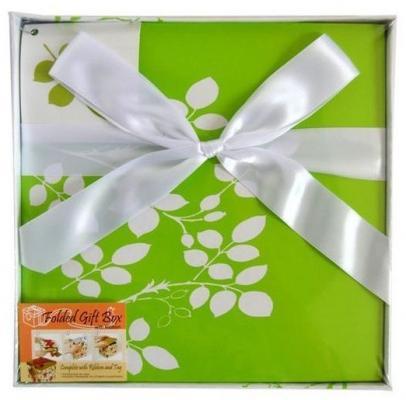 Коробка подарочная Golden Gift ЦВЕТОЧНЫЙ УЗОР 22х22х21 см коробка подарочная golden gift pw1057 224 22х22х21 см