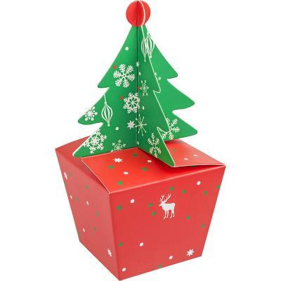 Коробка подарочная Winter Wings ЕЛОЧКА 6*8*6,5 см magic time подарочная коробка елочка в голубом m