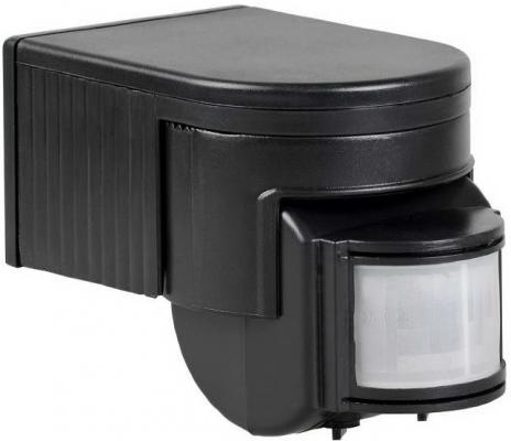 Iek LDD10-012-1100-002 Датчик движения ДД 012 черный, макс. нагрузка 1100Вт, угол обзора 180град., дальность 12м, IP44, ИЭК