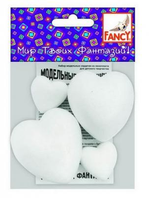 Набор для творчества Fancy Creative Набор Сердец из пенопласта наборы для творчества fancy creative сердце фигурное из пенопласта