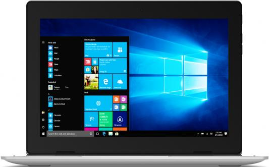 Планшет Lenovo IdeaPad D330-10IGM Celeron N4000 (2.6) 2C/RAM2Gb/ROM32Gb 10.1 1280x800/3G/4G/Windows 10/серебристый/5Mpix/2Mpix/BT/WiFi/Touch/microSD 128Gb/10hr планшет lenovo ideapad d330 10igm 10 1 32gb silver wi fi bluetooth windows 81h3003bru