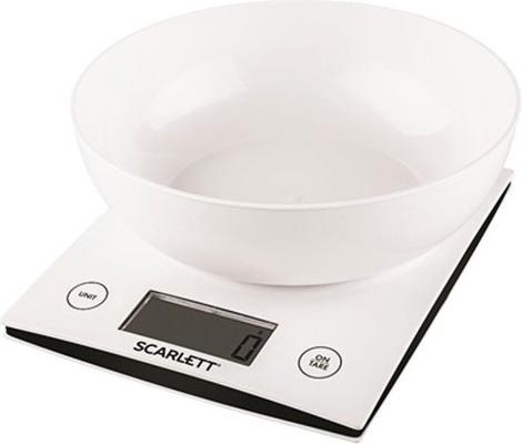 Весы кухонные Scarlett SC - KS57B10 белый весы scarlett sc bs33e064