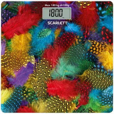Весы напольные Scarlett SC-BS33E033 рисунок весы напольные scarlett sc bsd33e894