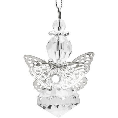 Украшение декоративное АНГЕЛ, 10 см, акрил. декоративное украшение ангел 28047