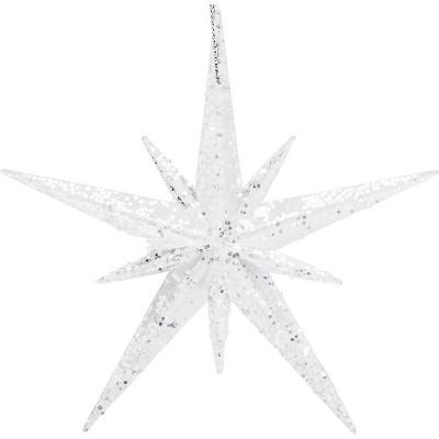 Украшение Winter Wings ЗВЕЗДА белый 11 см 1 шт акрил N182300 цена и фото