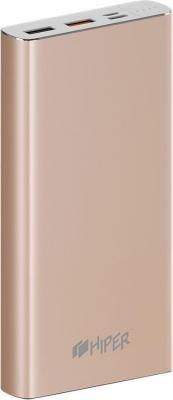 Аккумулятор HIPER Внешний аккумулятор HIPER MPX15000 GOLD тюль сетка garden выс 290см цветочный рисунок с сиреневой каймой
