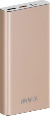Фото - Аккумулятор HIPER Внешний аккумулятор HIPER MPX15000 GOLD аккумулятор hiper внешний аккумулятор hiper mpx15000 gold