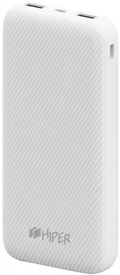 Аккумулятор HIPER Внешний аккумулятор HIPER SPX20000 WHITE цена