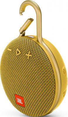 Динамик JBL Портативная акустическая система JBL CLIP 3, желтый