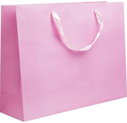 Фото - Пакет подарочный ламинированный, 40*30*12 см, с двустор. рельефным тиснением, бумага пакет подарочный круги y6 2488 i k с тиснением 32х26х12 см