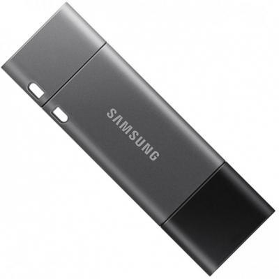 Внешний накопитель 32GB USB Drive <USB 3.1> Samsung DUO Plus (up to 300Mb/s) (MUF-32DB/APC) внешний накопитель 32gb usb drive usb 3 1 samsung bar plus up to 300mb s muf 32be4 apc
