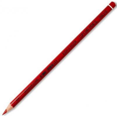Карандаш химический, круглый корпус, красный карандаш цветной koh i noor химический 175 мм