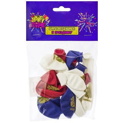 Купить Набор шаров Action! Россия 25 см 10 шт, Атрибуты для праздника