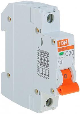 Автомат TDM SQ0206-0075 ВА47-29 1р 20а 4.5ка х-ка С