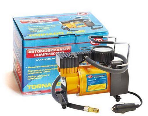 Компрессор AUTOVIRAZH TORNADO Standart AC-580 35л/мин компрессор автомобильный tornado аc 580