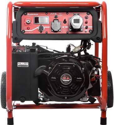 Бензоэлектростанция Hammer Flex GN8000ATS авто/электрозапуск 7.5КВт 220В 50Гц бак 33л непр.8ч