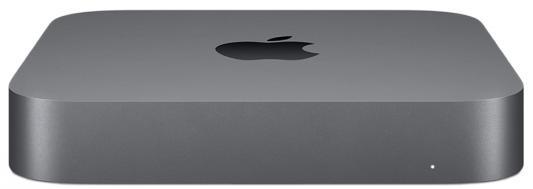 Неттоп Apple Mac mini Intel Core i3 8100 8 Гб SSD 128 Гб Intel UHD Graphics 630 macOS (MRTR2RU/A) компьютер apple mac mini 2018 z0w2000u9