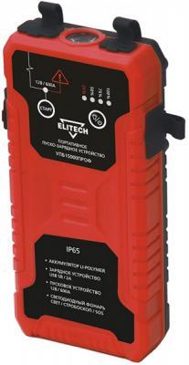 Устройство пуско-зарядное ELITECH УПБ 15000ПРОФ 1Li-polymer,12В,акк60\\1000А,пуск600А,0,61кг пуско зарядное устройство сетевое ring automotive recb320 12в 20а