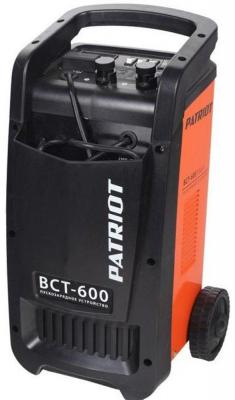 Устройство пуско-зарядное PATRIOT BCT-600 Start 220В±15% 3300Вт 12/24В з/п88.0/500А 120-900А/ч 25к пускозарядное устройство patriot bct 30 start