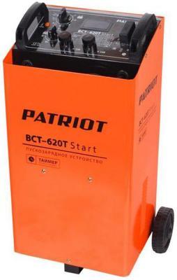 Устройство пуско-зарядное PATRIOT BCT-620T Start 220В±15% 3300Вт 12/24В з/п90/550А 50-1000А/ч 25кг пускозарядное устройство patriot bct 30 start