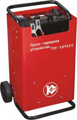 Фото - Устройство пуско-зарядное КАЛИБР ПЗУ-2,0/12,0С 2.1кВт запуск 16кВт 12/24В номин ток 55/60А бензиновая виброплита калибр бвп 13 5500в
