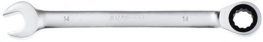 Ключ AVSTEEL AV-315014 комб с трещоткой 14мм ключ avsteel av 315007 комб с трещоткой 7мм