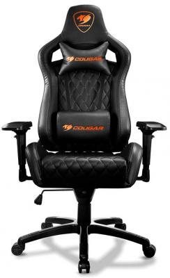 Кресло компьютерное игровое Cougar ARMOR S-B черный цена