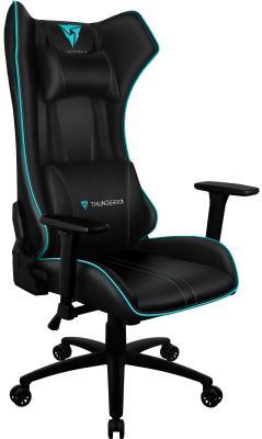 Кресло компьютерное игровое ThunderX3 UC5-BC black-cyan AIR
