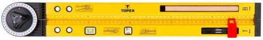 Угломер TOPEX 30C321 уровень алюминиевый строительный специальный уровень topex 29c884