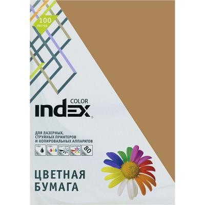 Цветная бумага Index Color IC19/100 A4 100 листов цветная бумага index color a4 100 листов icmixpastel 4х25 100