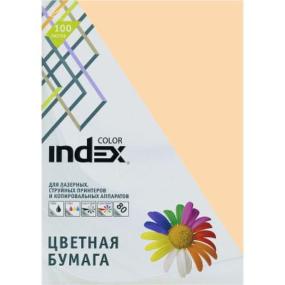 Цветная бумага Index Color IC31/100 A4 100 листов цветная бумага index color a4 100 листов icmixpastel 4х25 100