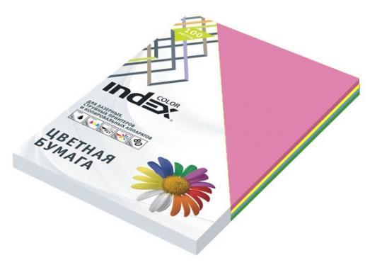 Фото - Цветная бумага Index Color 4670303204151 A4 250 листов бумага цветная index color 80гр а4 5х50 55 85 93 59 45 250л