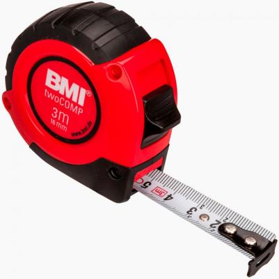 цена на Рулетка BMI twoCOMP 3мx16мм 472341021