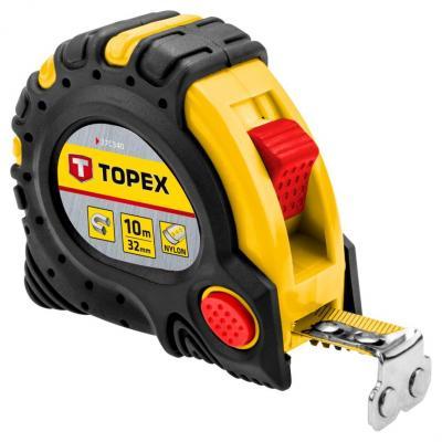 Рулетка TOPEX 27C343 3мx19мм нивелир topex 29c909