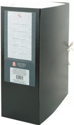 Короб архивный цельнокроенный на 2-х завяз.,разборный, SPONSOR, бумвинил, 120 мм цвет ассорти короб архивный 2 завязки бюрократ bka 80s бумвинил корешок 80мм разобранный a4 ассорти