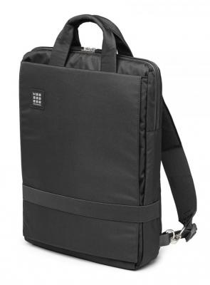 Сумка-рюкзак 15.4 Moleskine ET73DBV15BK полиэстер черный
